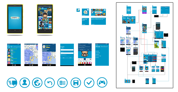 GamePix Windows Phone App