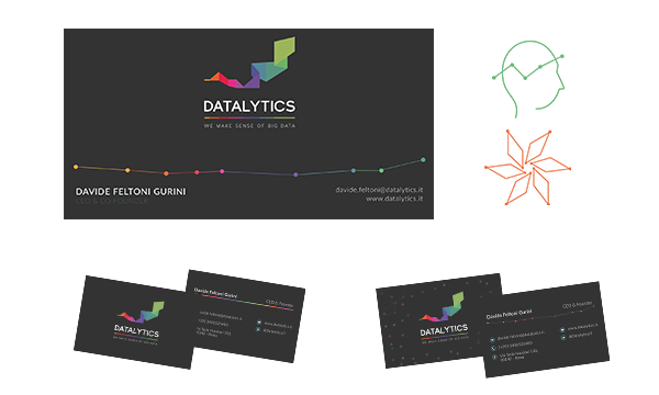 Datalytics Rebranding: Business Cards and Presentation