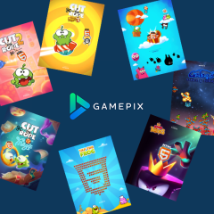 GamePix: a taste of 5 years of Design