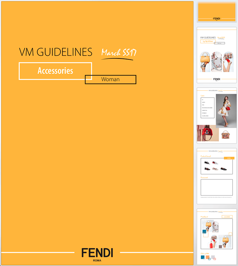 FENDI Roma Visual Guidelines